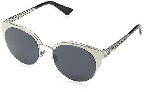 Dior Damen DIORAMAMINI IR 010 Sonnenbrille, Silber (Palladium/Grey Blue), 54