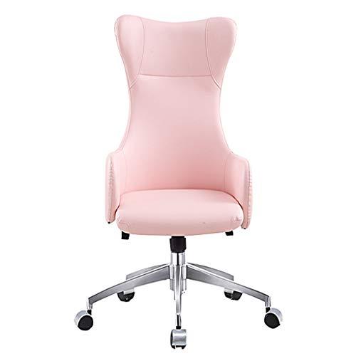 Bürostuhl, ergonomisches PU Leder High Back Executive Bürostuhl Gaming Stuhl Racing Style High-Back PU Leder Bürostuhl Computer Schreibtisch Stuhl Executive und ergonomischer Stil Drehstuhl -