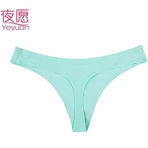 RangYR*Non-marking, low-rise biancheria intima sexy intimo confort stringa donne 1009B tentazione di temperamento e intimo (Maternità Bikini Mutandine)