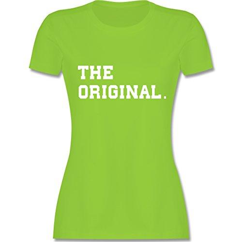 Shirtracer Partner-Look Familie Mama - The Original The Remix Eltern - Damen T-Shirt Rundhals Hellgrün