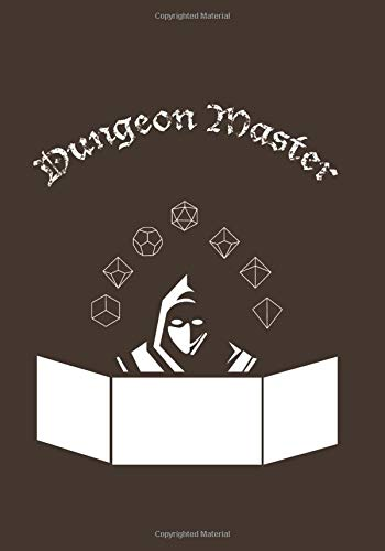 Dungeon Master: Notebook for Role Playing Games, D20 Custom Interior With 120 Lined Pages, Perfect For All Your Adventures (RPG) - Dune Gift Set