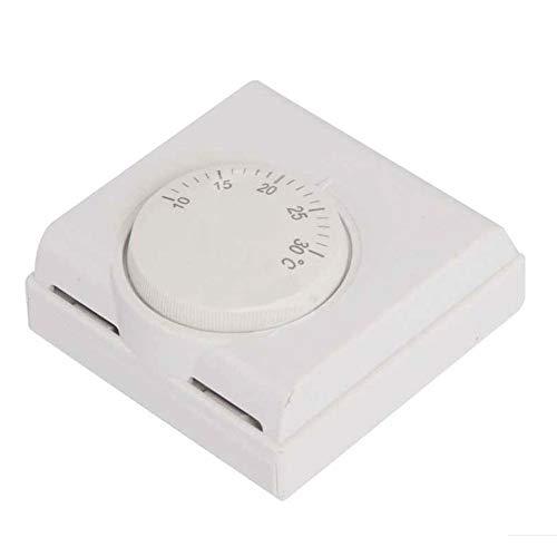 Thermostat Klimaanlage Drehschalter Safe Mechanische Steuerung einfache Installation Manuelle Heizung Raum Zuhause Wandmontage Durable Cooling Lasts Regler -