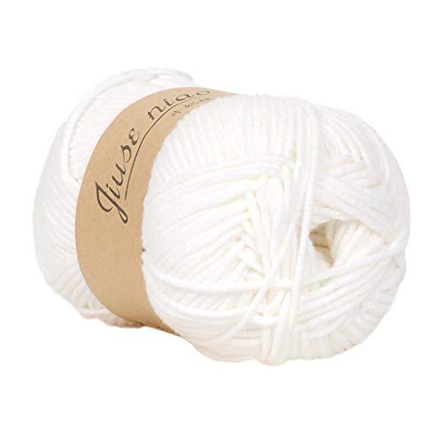 LCLrute 50 gr/teil Winter DIY Weichen Milch Baumwolle Garn Baby Wolle Garn für Stricken Hand Gestrickte Decke Pullover Schal Puppe Häkeln garn -