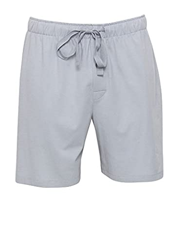 Cyberjammies 6083 Men's Freddie Grey Thermaknit Cotton and Modal Pyjama Pajama Pyjama Short Medium