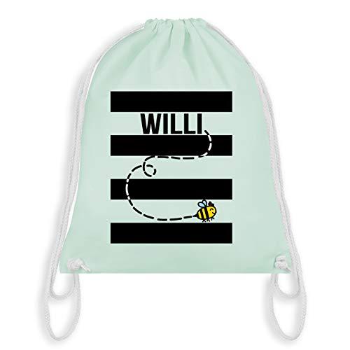 Karneval & Fasching - Bienen Kostüm Willi - Unisize - Pastell Grün - WM110 - Turnbeutel & Gym Bag