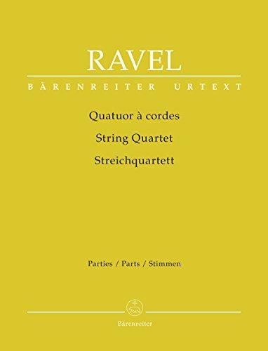 Quatuor à cordes | Ravel, Maurice (1875-1937)