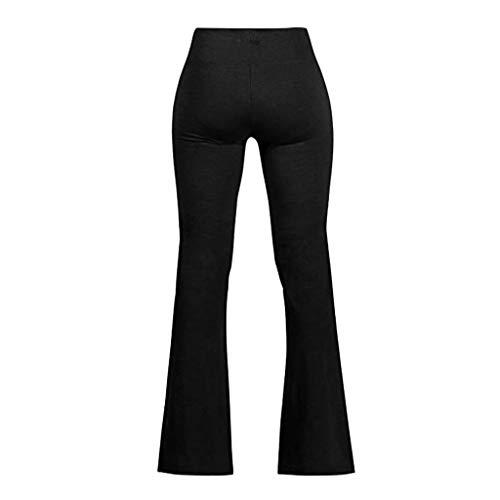 HCFKJPantaloni da Yoga a vita alta da Donna. Pantaloni da Allenamento a vita alta -