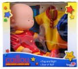 Caillou 14' Exclusive Day and Night Doll with Two Outfits