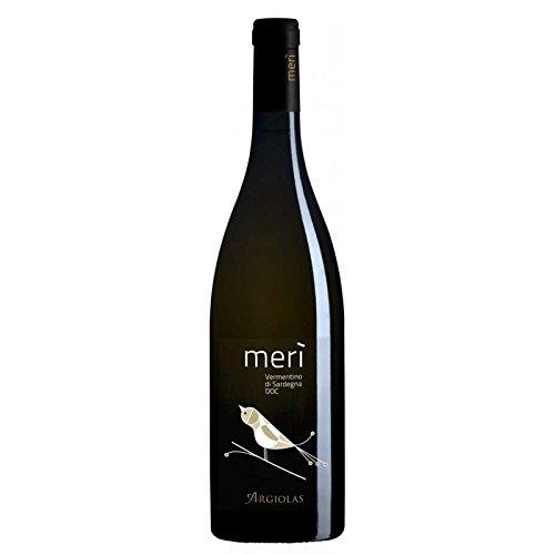 6 x 0.75 l - merì, è un vino bianco sardo, vermentino di sardegna prodotto dalla storica cantina di argiolas, a serdiana, sardegna.