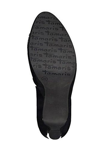 Tamaris 22426 - Scarpe con Tacco Donna Nero (Black Patent)