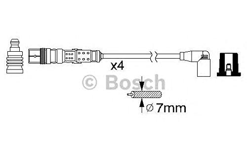 Bosch 0 986 356 312 Kit Cavi accensio