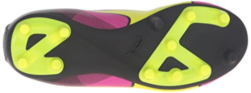 Puma Adreno II FG Synthétique Baskets Safety Yellow-Pink Glow Black