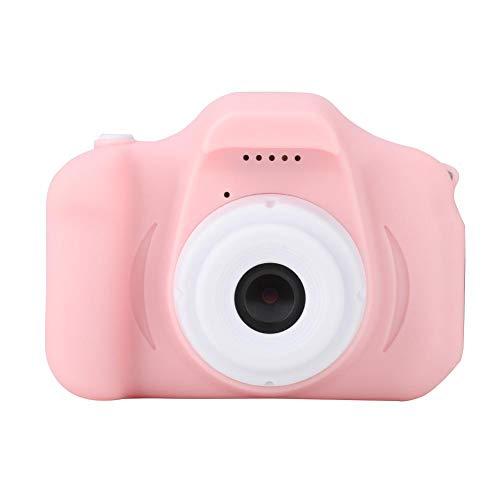 Denash Kinderkamera, Cartoon Mini-Digitalkamera, Selbstauslöser/Foto/Video, Dual-Port-Selfie-Kamera Intelligent Focus-Free - Für Kinder Flash-karten Japanische