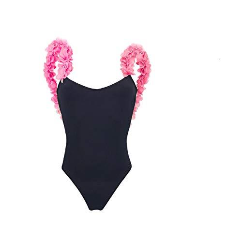 Ducomi TanTru - Sexy Bräunungseffekt für Frauen in voller Länge - Microforato Revolutionary Fabric - Ermöglicht den Durchgang der Sonnenstrahlen und Garantiert so UV-Schutz (Schwarz, S)
