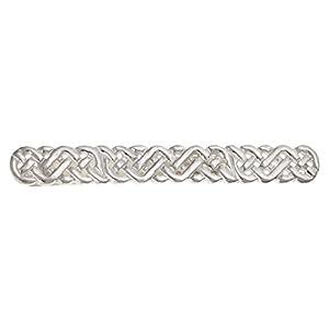 Herren Irish Celtic Knoten Design Krawatte Slide–925Sterling Silber, Lieferung erfolgt in Geschenkbox oder Geschenkbeutel