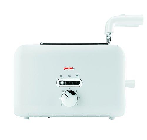 Guzzini G-Style Electronic Toaster, White