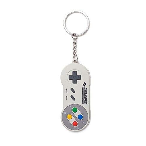 Nintendo Llavero, Gris Gris - BIO-KE020310NTN