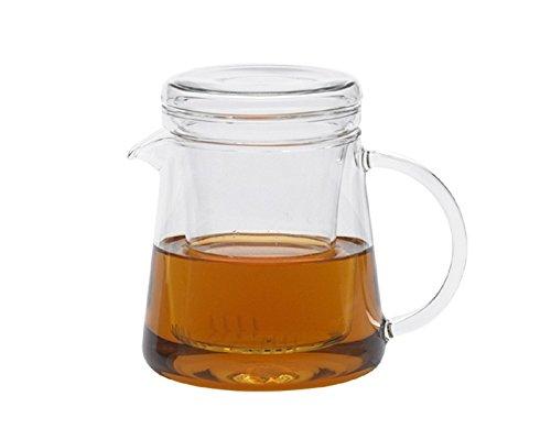 Trendglas Jena Teekanne FOR TWO für zwei Tassen mit Glasfilter, 0,4 Liter