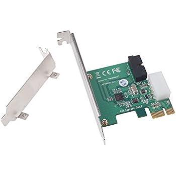 SilverStone SST-EC03S-P - Carte PCI-E Express USB 3.0, Connecteur d'alimentation avec 4 broches mâles 5V et 1 connecteur USB 3.0 de 20 broches ( offre deux autres ports USB 3.0 ), et Panneau frontal en aluminium Hub USB 2 ports USB 3.0 3.5 pouces, argent