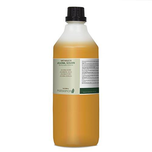 Jojoba Dorada - Aceite Vegetal Prensado en Frío 100% Puro - 1 Litro
