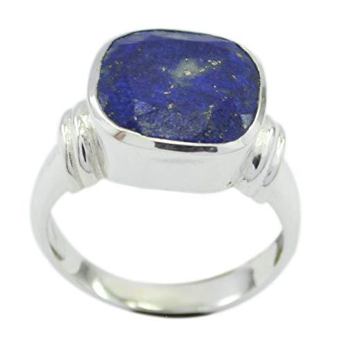 großhandel 925 Sterling Silber herrlicher echter Blauer Ring, Lapislazuli Blaue Edelsteine   silberring