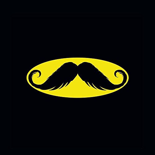Apple iPhone 6 Housse Étui Silicone Coque Protection Moustache Batman Hipster Étui en cuir gris