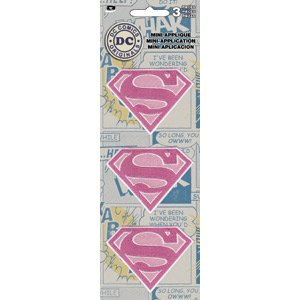 Price comparison product image Patch set - DC Comics - supergirl 3 Mini Iron On Licensed p-dc-0114-s