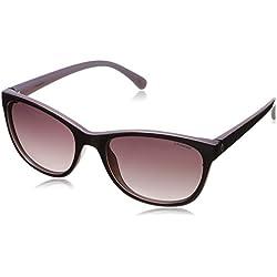 Polaroid P8339 JR C6T Gafas de Sol, Morado (Purple/Burgundy Shaded Polarized), 55 para Mujer