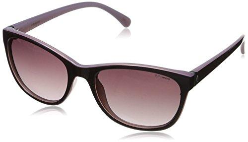Polaroid Polarized Rectangular Women's Sunglasses - (P8339 C6T 55JR|55|Purple Color) image