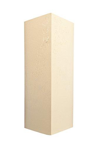 W-Lamp wl190shd Butterflies-Möbel, Papier, creme, 11x 11x 32cm (Papier-möbel)
