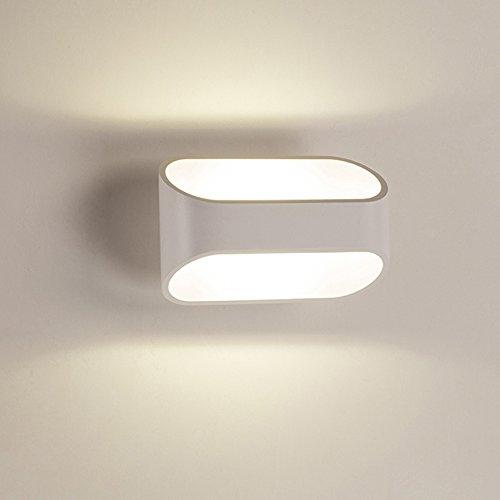 Lampada da parete led piantana 3000 k bianco caldo led for Lampada a led camera da letto