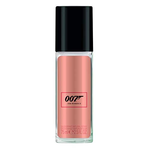 James Bond 007 For Women II - Deodorant Spray - Blumiges, orientalisches Damen Deo - langanhaltend und frisch - 1er Pack (1 x 75ml)