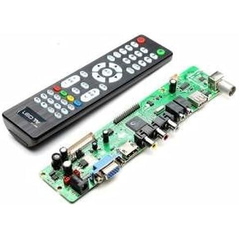 V59 lcd universale tv controller bordo di driver del pc