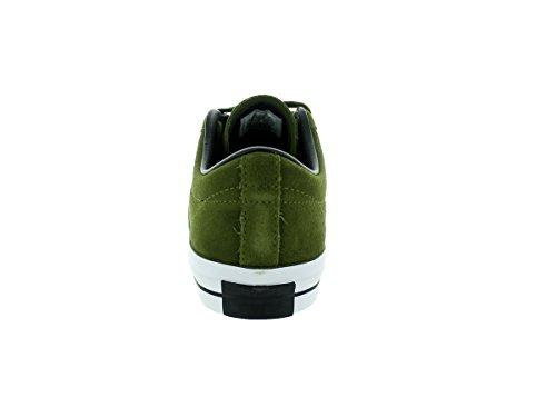 Converse Unisex-Erwachsene Sneakers One Star C153064 Low-Top Vert olive