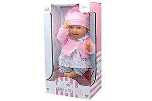 Kidz Corner Baby & Me Bebè con Pelele Deluxe 40cm,, 438764