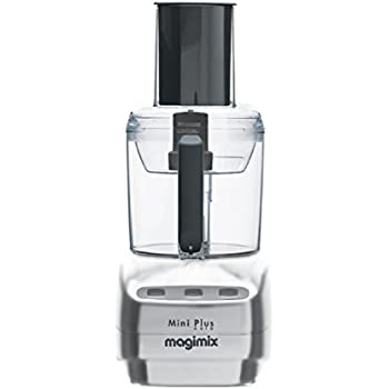 Magimix Mini Plus 400W 1.7L Chrome food processor - Food Processors (1.7 L, Chrome, Buttons, Stainless steel, 400 W, 155 mm)