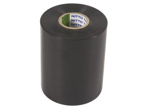 Nitto 1049-N Isolierband, 100 mm x 20 m Abmessungen, Schwarz