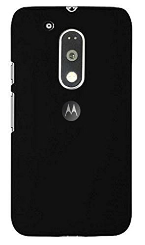 ZYNK CASE BACK COVER FOR MOTO G4 PLUS-BLACK