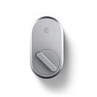 August AUG-SL04-M01-S04 Smart Lock-Silver, 1.5 V