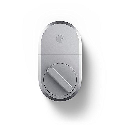 August Smart Lock - Cerradura inteligente, AUG-SL04-M01-S04, 1.5 voltsV