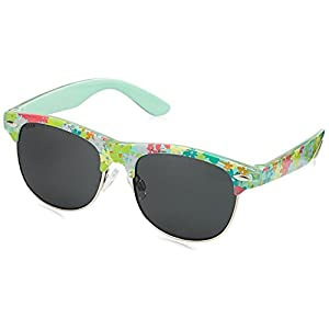 Dash UV Protected Square Unisex Sunglasses - (SDS017CA|47|Black Color)