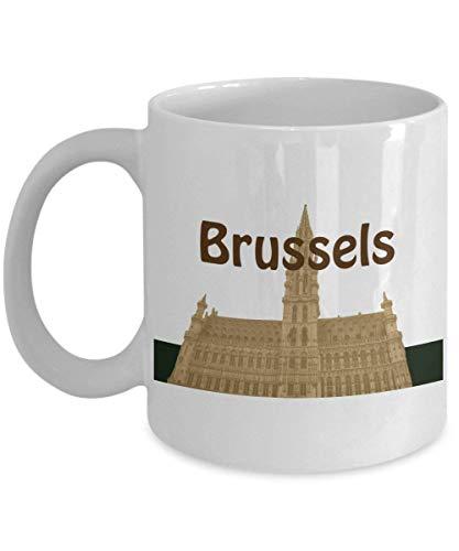 d7b8e400095 Starbucks Mug City Global Icon Brussels Belgium (White) -11oz Copenhagen  Starbucks Coffee Mug - Brussels Starbucks Mug - Starbucks Brussels Belgium  Co