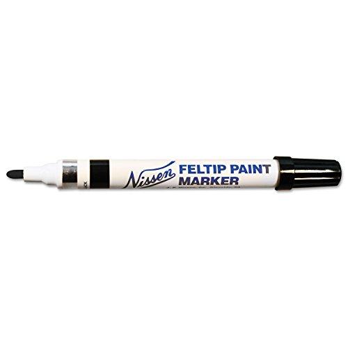 Nissen 436-00352 00352 Feltip Paint Marker Schwarz