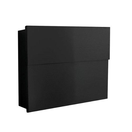 Briefkasten Letterman XXL 2 schwarz, radius design Outdoor-läufer Teppich 2 X 14