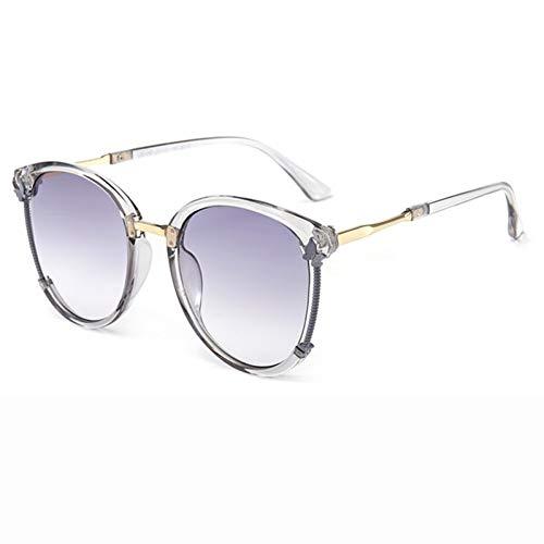 SKCLBOOS Sonnenbrillen Feminino Redondo Lady Gunes Gozlugu Zonnebril Dames Frauen Sonnenschutzbrillen 2019 Trend-Produkte Frau Runde Schattierungen - Nike Schattierungen
