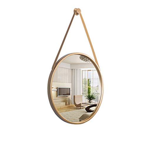 ⭐ Espejo Pared círculo Metal Negro Redondo Decorativo