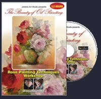 Rose Painting Techniques Workshop DVD by Gary and Kathwren