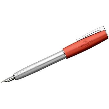 Faber-Castell 149222 Stylo-plume LOOM métallique orange EF
