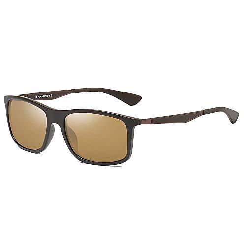 BJYG Sport-Sonnenbrille Klassischer Retro-Stil Herren Polarisierte Sonnenbrille Sport Outdoor Baseball Tennis Langlebig Vollformat UV400-Schutz Fahren Fahrrad Laufen Angeln Golf Freunde Geschenk