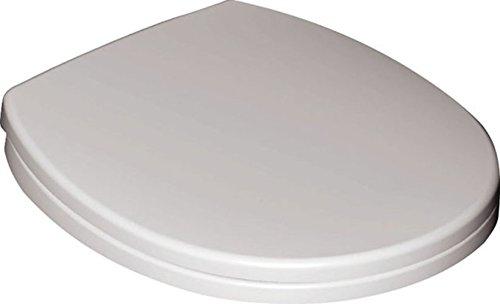 Preisvergleich Produktbild Ideal Standard Klosettsitz CONTOUR 21 S 4077 mit Deckel, Scharnier aus Edelstahl, weiss, S407701